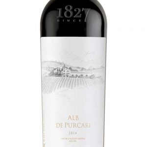 ALB DE PURCARI DRY WHITE WINE 2015 - 1