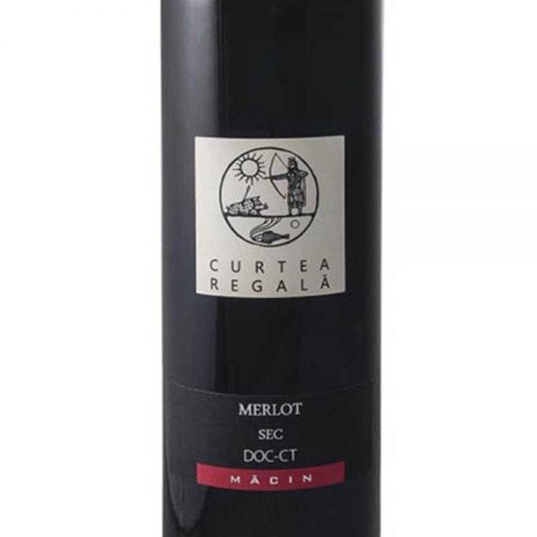 Alcovin Macin Curtea Regala Merlot 2013 - 1