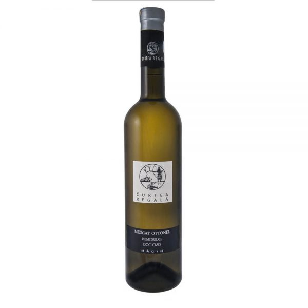 Alcovin Macin Curtea Regala Muscat Ottonel Medium Sweet 2015