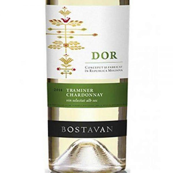 Bostavan DOR White – Traminer & Chardonnay 2016 - 1