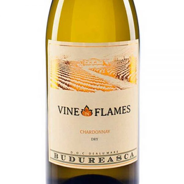 Budureasca The Vine in Flames Chardonnay 2017 - 1