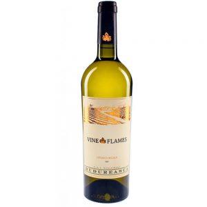 Budureasca The Vine in Flames Feteasca Regala White Wine 2018