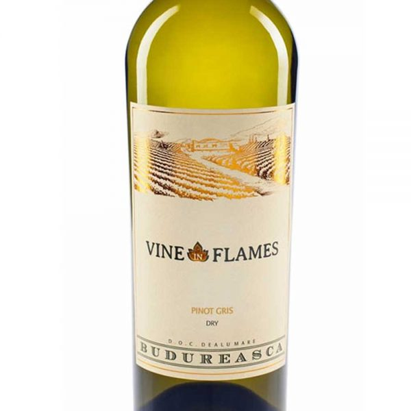 Budureasca The Vine in Flames Pinot Gris 2017
