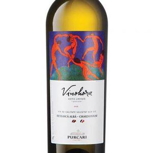 Chateau Purcari Vinohora Fetească Albă & Chardonnay 2015 -1
