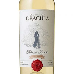 Legend of Dracula Feteasca Regala ECO White Wine 2015 -1