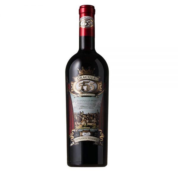 Legendary Dracula 555 Feteasca Neagra Red Wine Limited Edition 2013