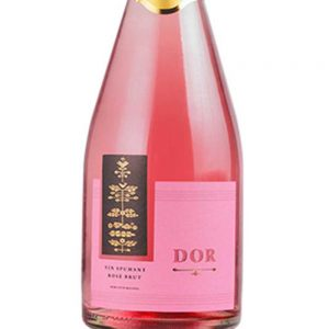 Bostavan Brut Rosé Sparkling Wine 2016 - 2