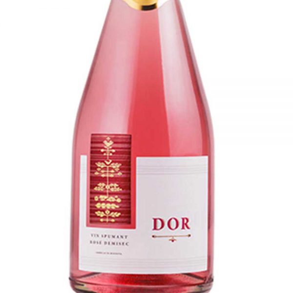 Bostavan Semi-dry Rosé Sparkling Wine 2016 – 1