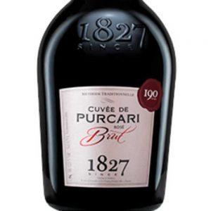 Cuvee de Purcari Brut Rose Sparkling Wine 2016 - 1