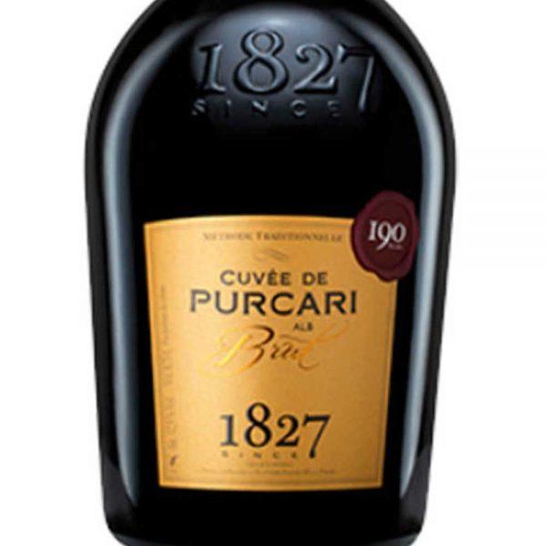Cuvee de Purcari Brut White Sparkling Wine 2016 - 1
