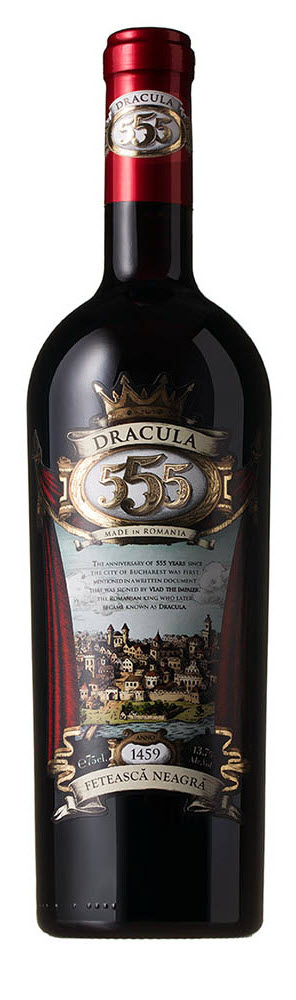 Legendary Dracula 555 Feteasca Neagra Red Wine Limited Edition 2013 - 11