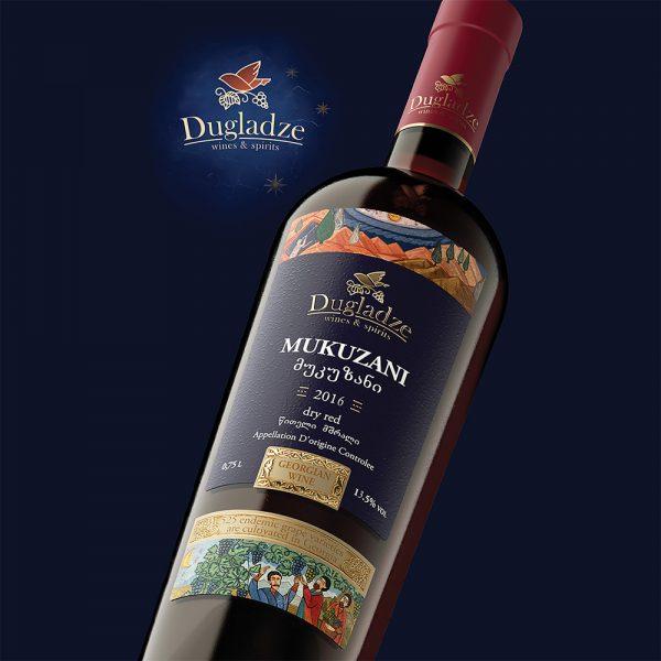 Dugladze Mukuzani (Saperavi) Georgian wine